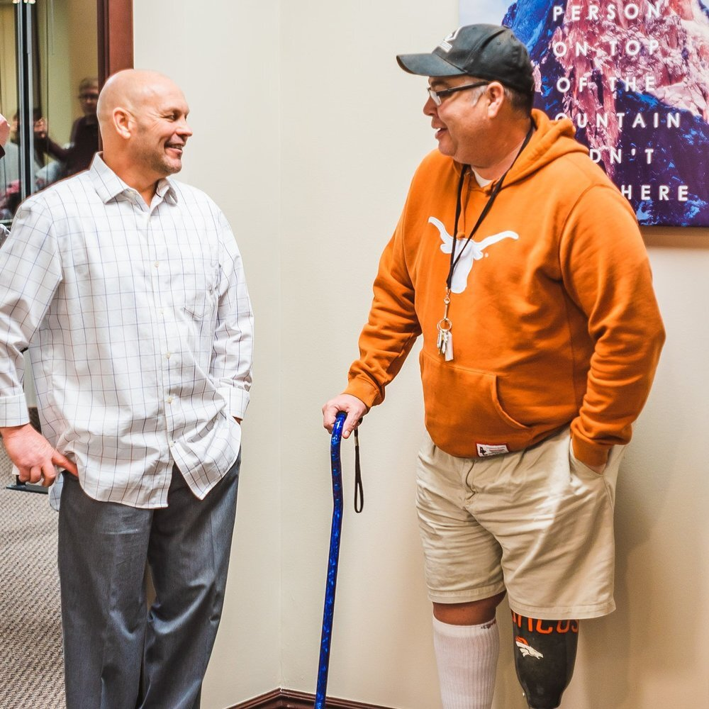In Home Prosthetic Care - Our in-home services are second-to-none! We provide concierge customer service for patients in Nevada, Utah, Idaho, and Wyoming. Whether you're at the hospital, at home, or in a nursing facility, we come to you to adjust your prosthesis—at no additional cost to you. No other prosthetic companies in Utah provide this level of care or service.