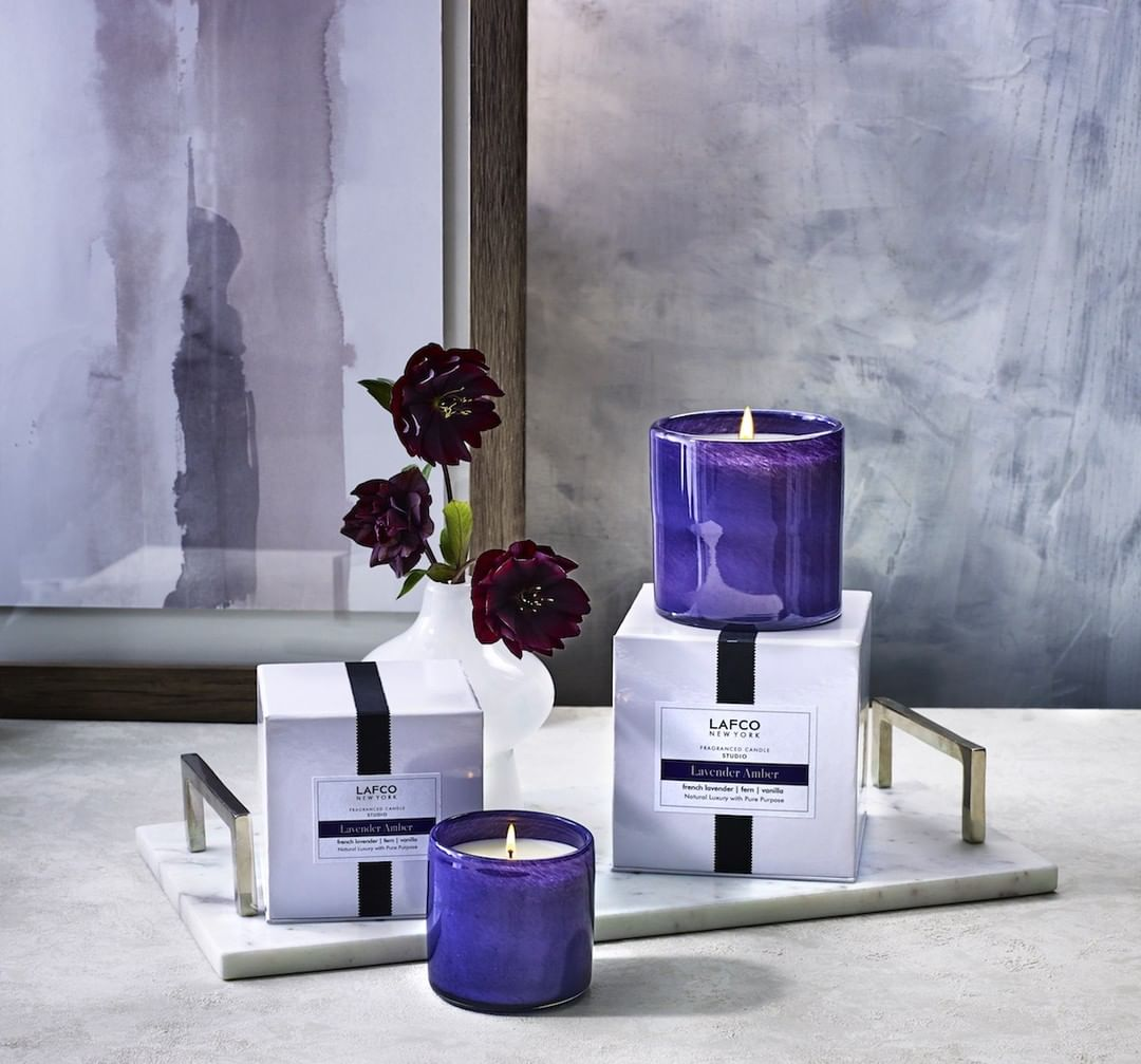 Lavender Amber: A fresh accord wrapped in lavender and fern lays over a warm trio of vanilla, tonka bean and musk.