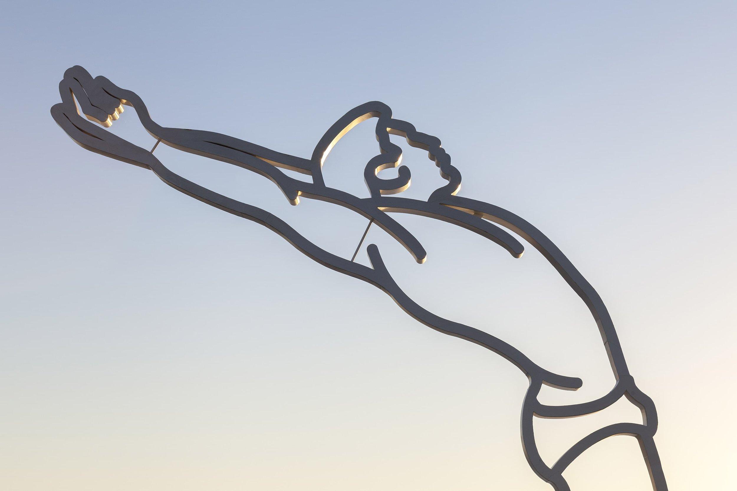 El salto Painted Steel.  12 x 9 x 0,5 m.  Escobar, Provincia de Buenos Aires, 2017.