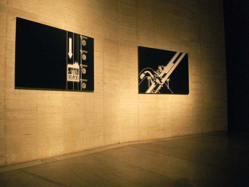 """Serie """"Buenos Aires by Night"""".  Exposición """"Modelos para armar"""" (2010).  MUSAC (Museo de Arte Contemporáneo de Castilla y León) .  Curadores: Agustín Pérez Rubio María Inés Rodríguez  y Octavio Zaya"""