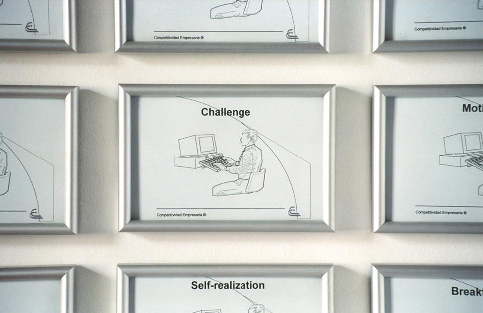 """""""Great expectations"""" (1999).  Instalación, dimensiones variables"""
