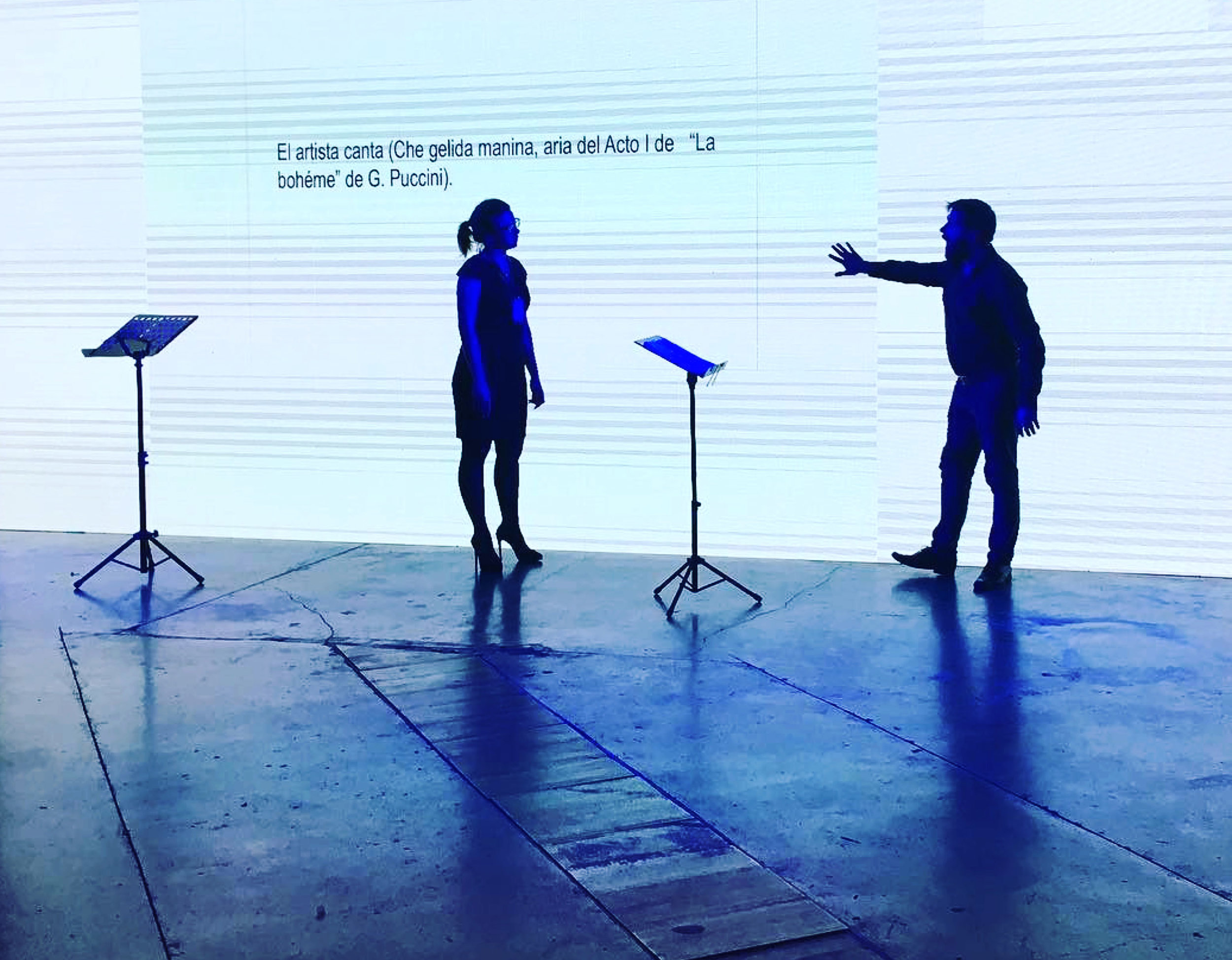 La bohème (interview), Bienal de Performance 2017