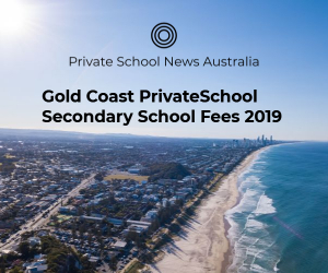 Gold Coast Private School Secondary Fees 2019