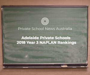 Adelaide Private Schools | 2018 Year 3 NAPLAN