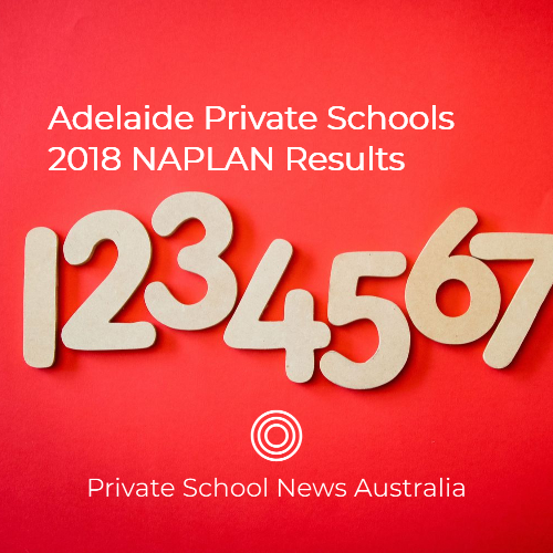 Private Schools Adelaide | NAPLAN Results 2018