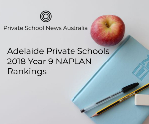 Adelaide Private Schools | 2018 Year 9 NAPLAN