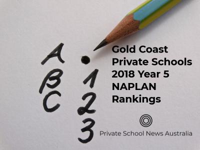 Gold Coast Private Schools | 2018 Year 5 NAPLAN