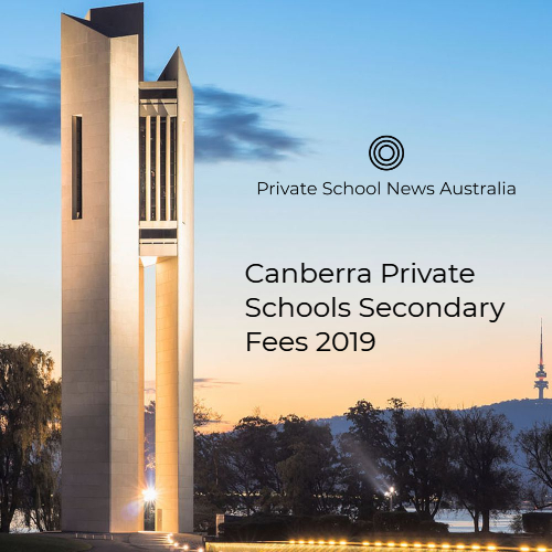 2019 Canberra Secondary School Fees