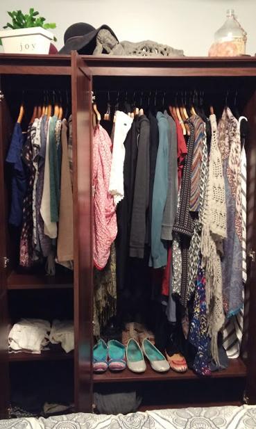 50 item wardrobe. 2017.