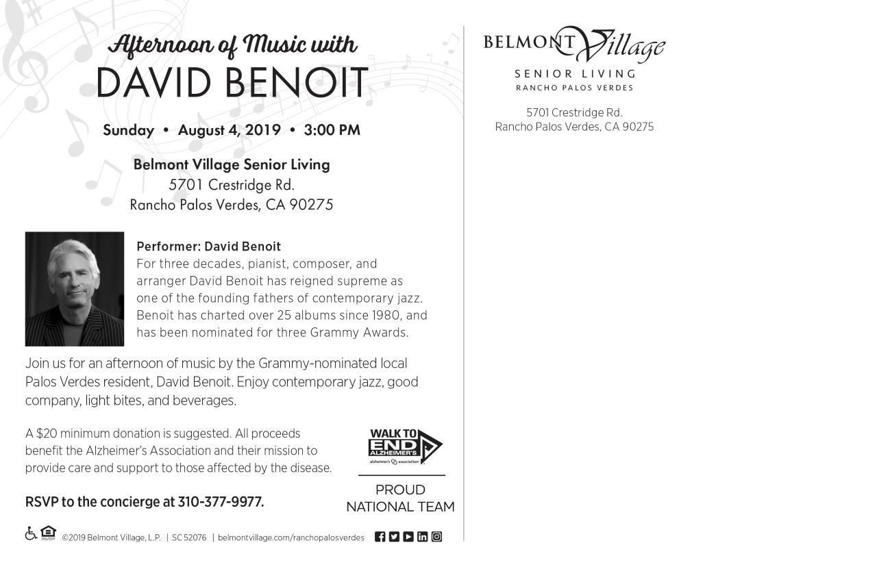 David Benoit information