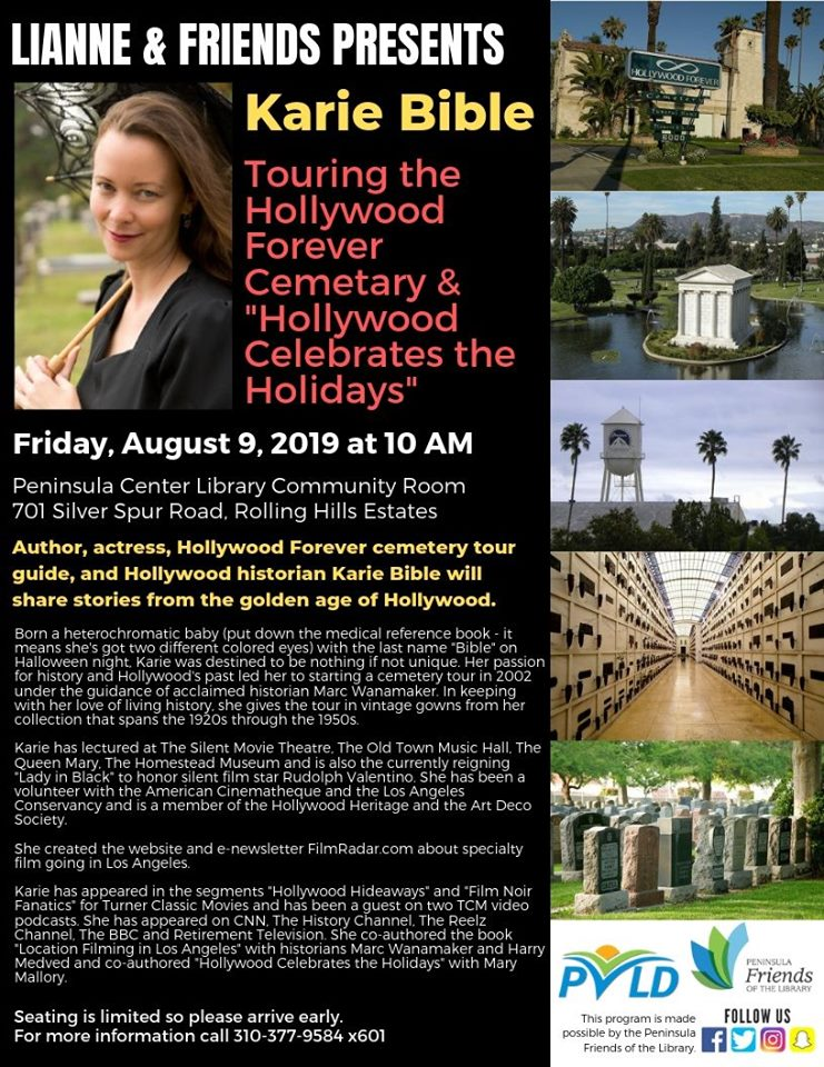 Touring the Hollywood Forever Cemetery -