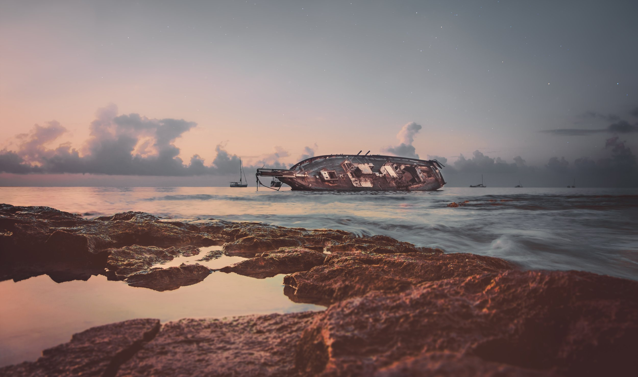 The Rusty Ruins - of the SS Dominator