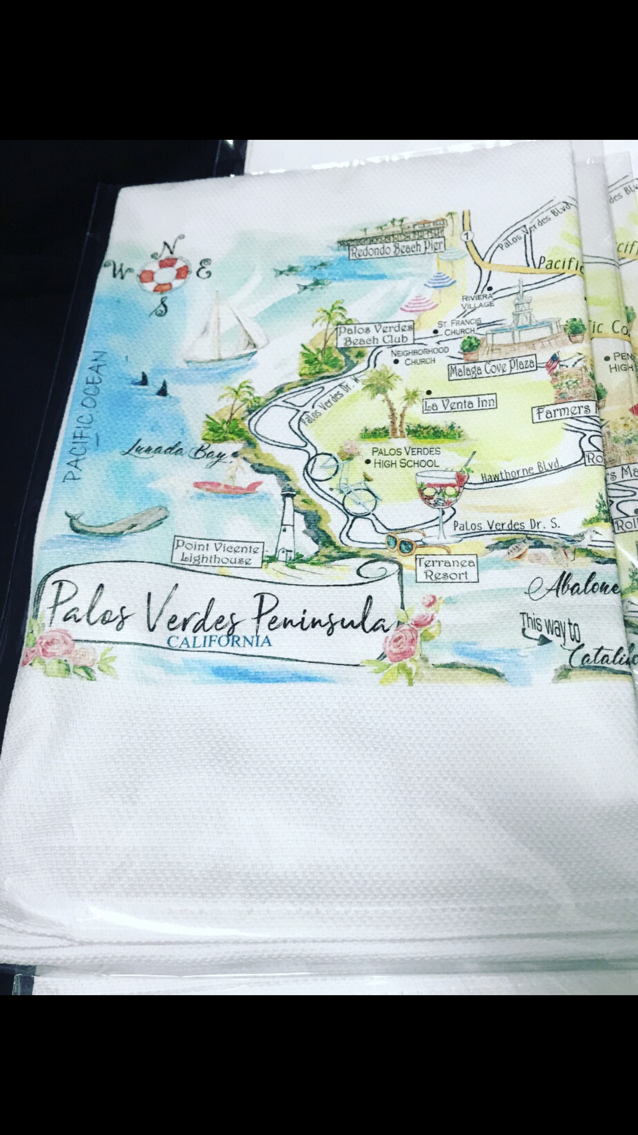 Palos Verdes Towels - Available at Freighthouse Design snd Consign