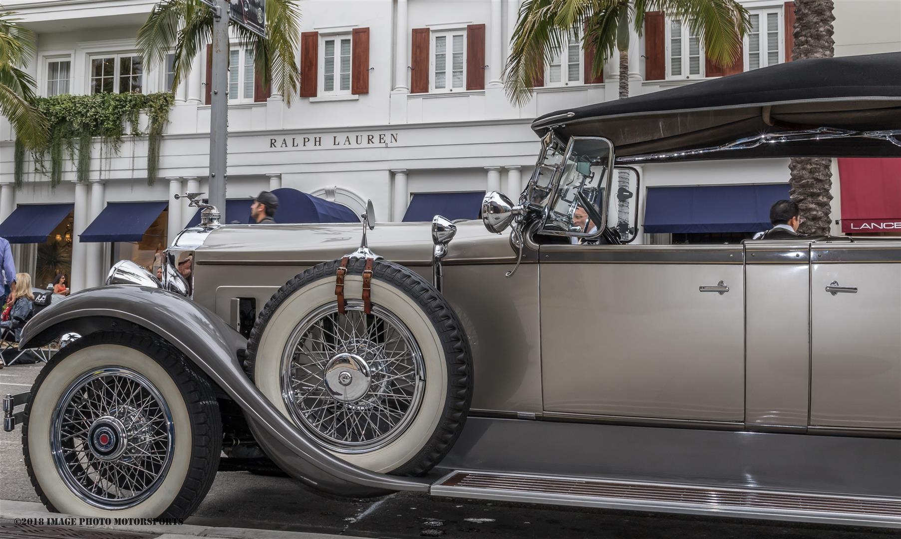 Driving a car in PV - in the 1920s and 1930s