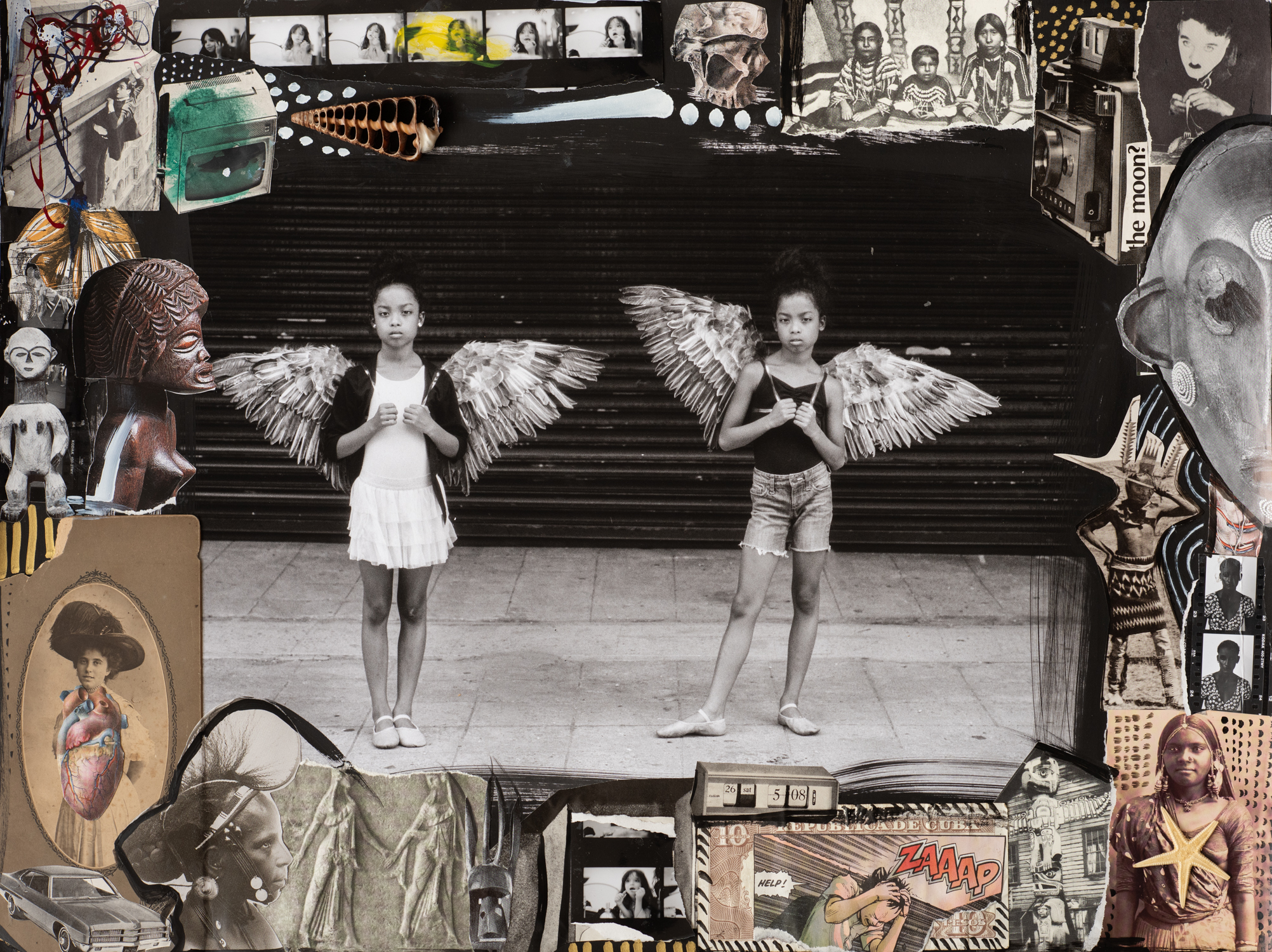 The Angels Twin 2015 by Delphine Diallo