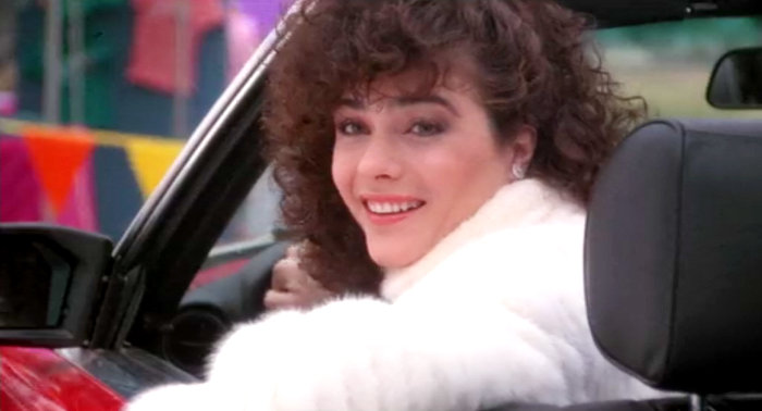 """…and as bitchy Natalie in """"Girls Just Wanna Have Fun"""" (1985). Thanks to my friend Todd-Michael, who alerted me of this fact. And who then ended our friendship when I said I had actually never seen this film."""