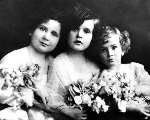 Magda, Zsa Zsa, and Eva. Probably before they had any work done. Probably.