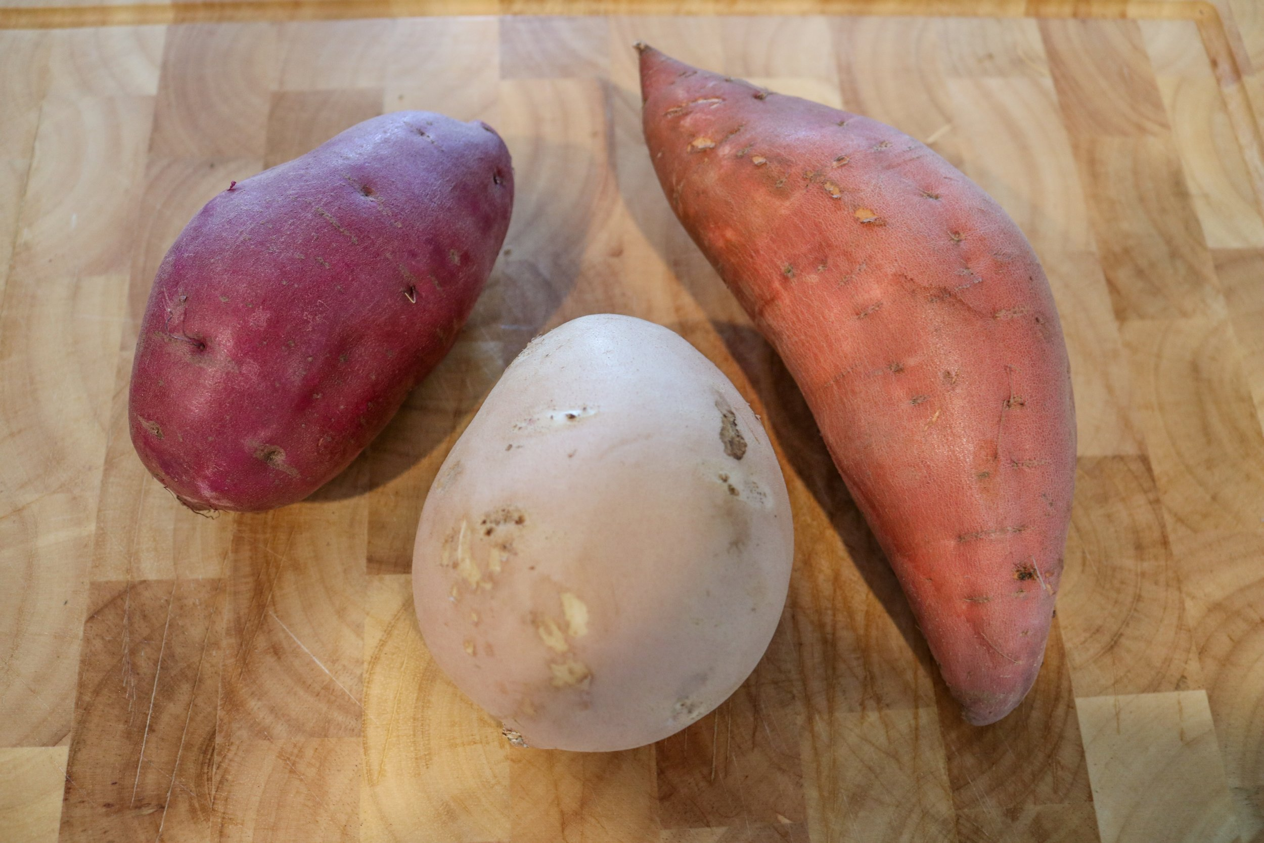 Sweet Potatoes Vs Yams And How To Cut One Jeremys D Tour