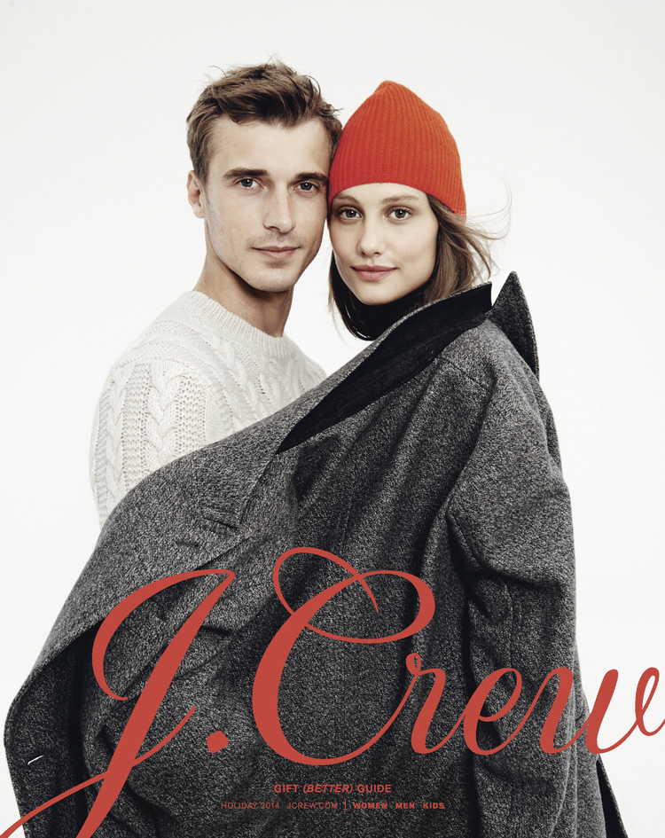 J.Crew Holiday Gift Guide, Art Direction & Design