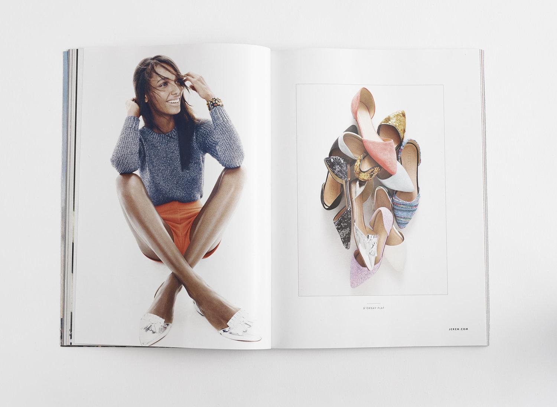 J.Crew Spring Ad Campaign, New York Magazine, Art Direction & Design