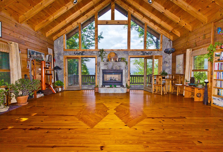 Inside Tao Mountain Sanctuary