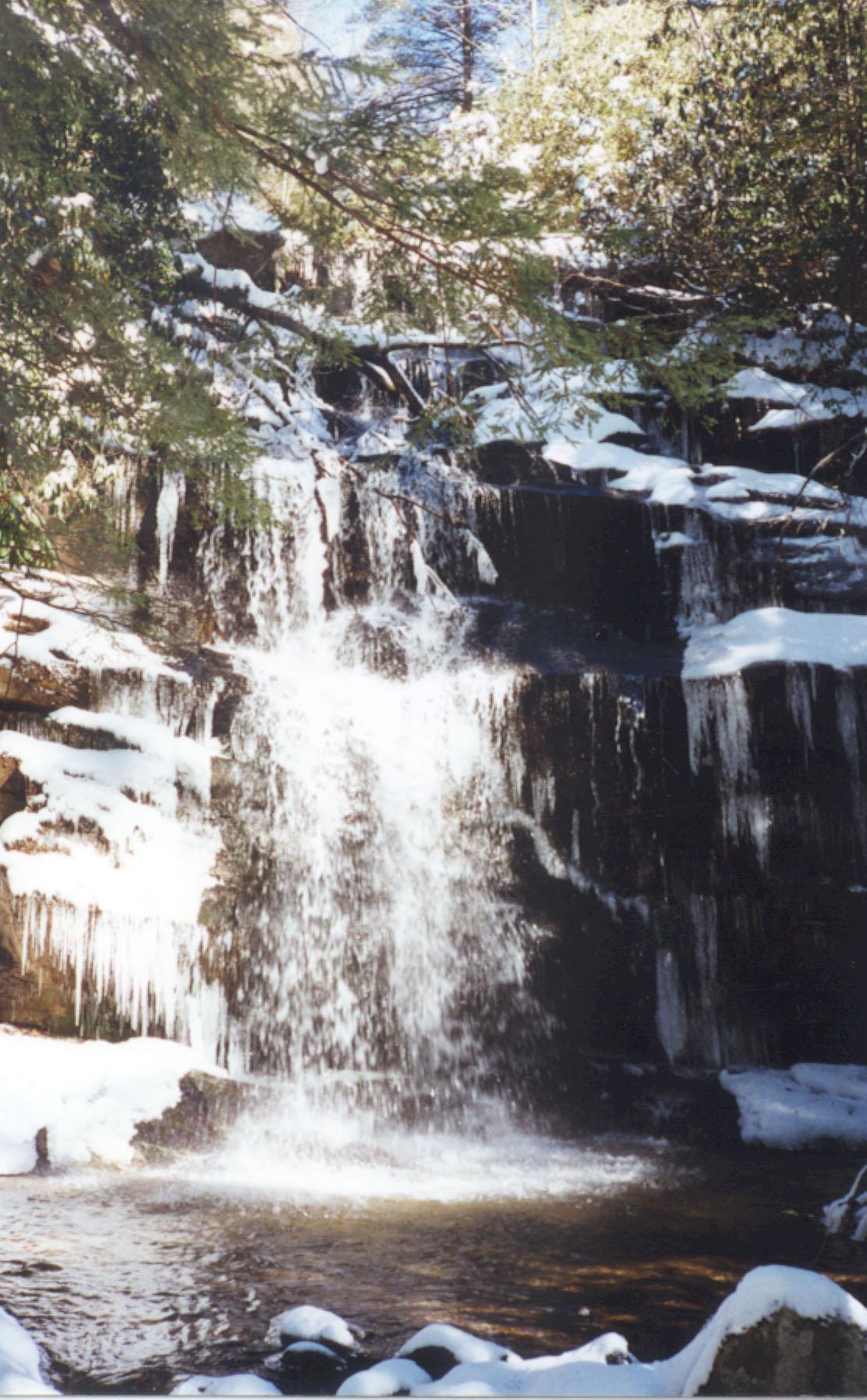 Standing Rock Falls -- A beautiful waterfall near the sanctuary