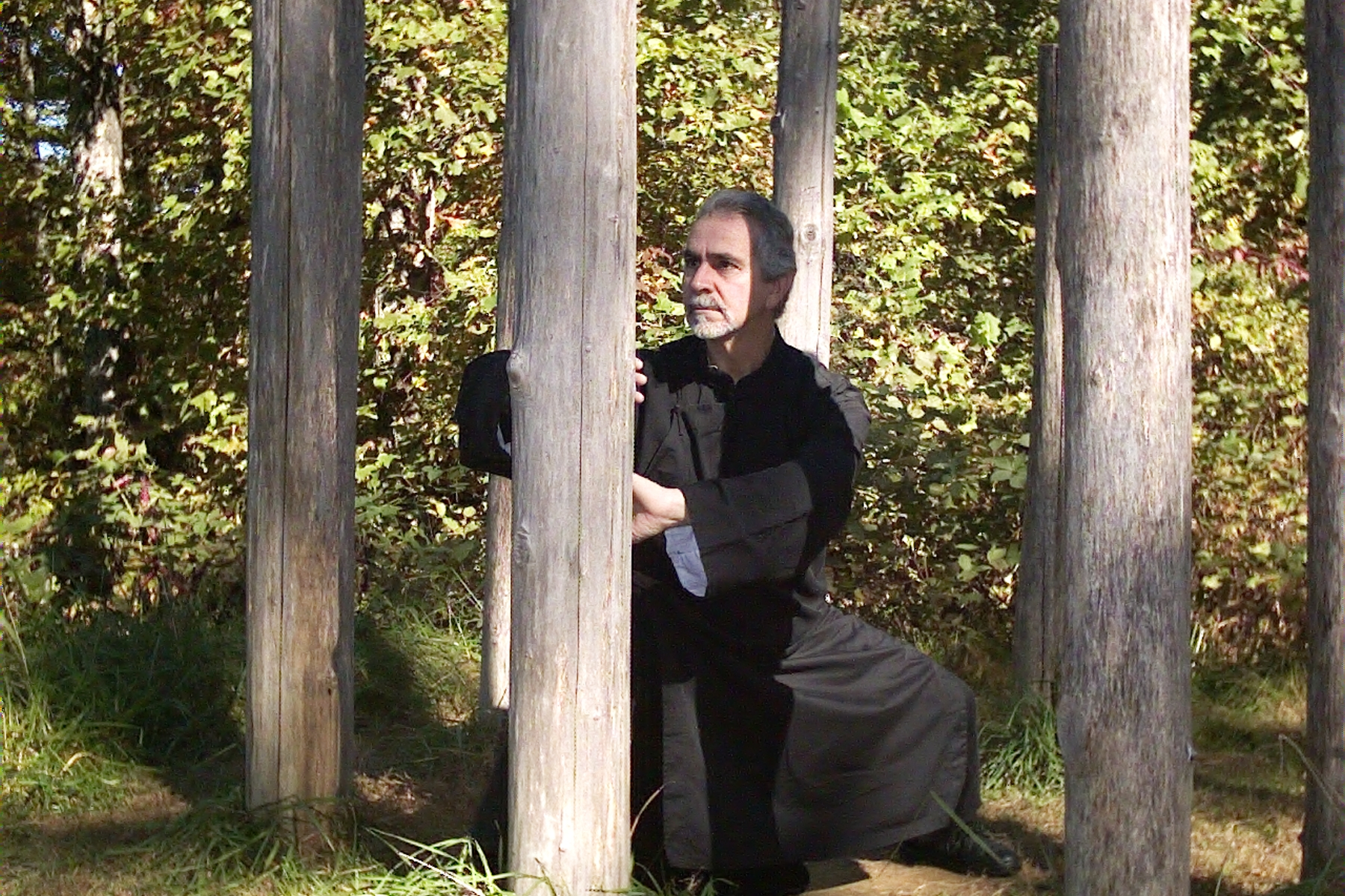 Sifu Paolillo, Entering the Forest (post training), 2005