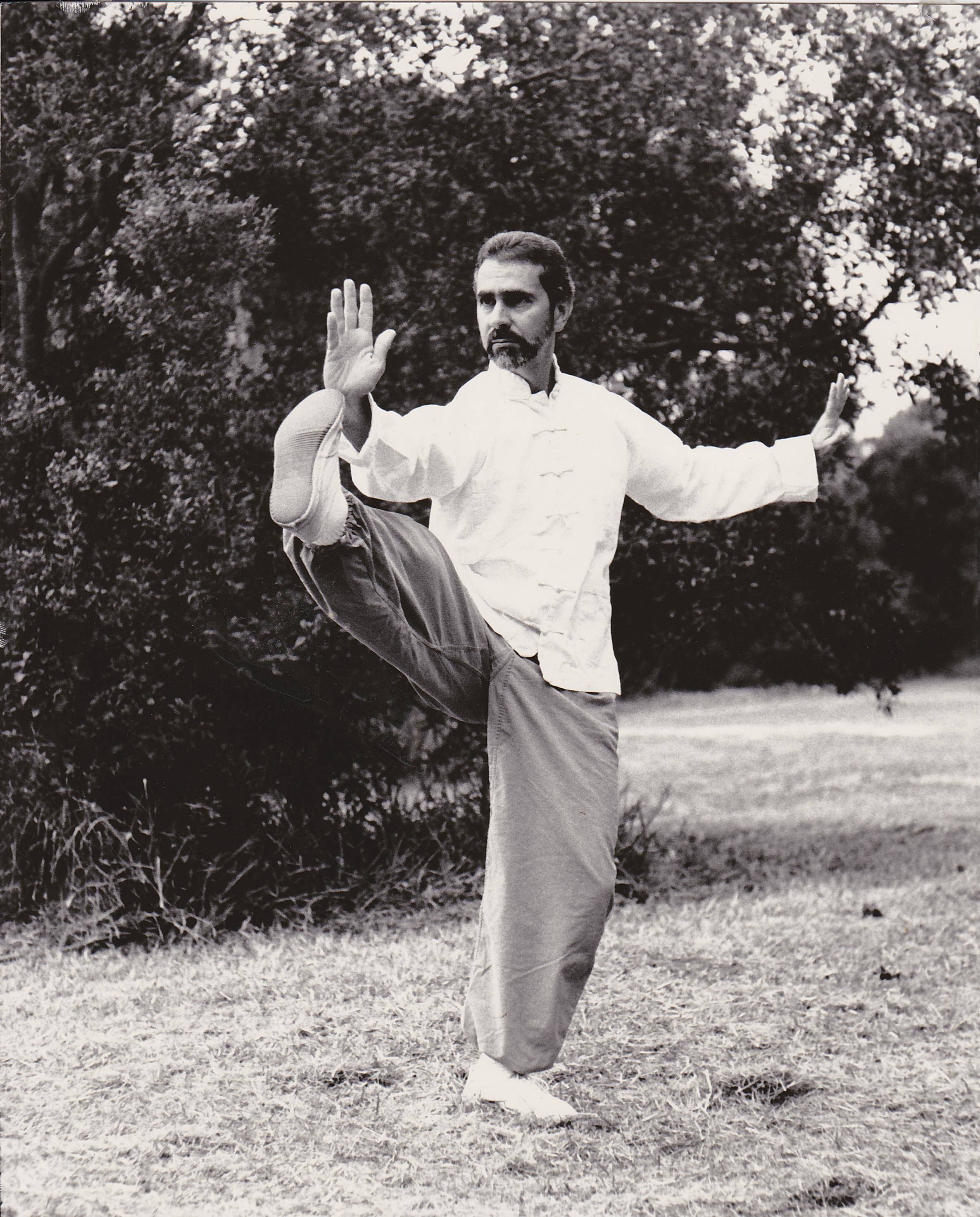 Sifu Paolillo performing Chen Tai Chi Ch'uan, early 90s