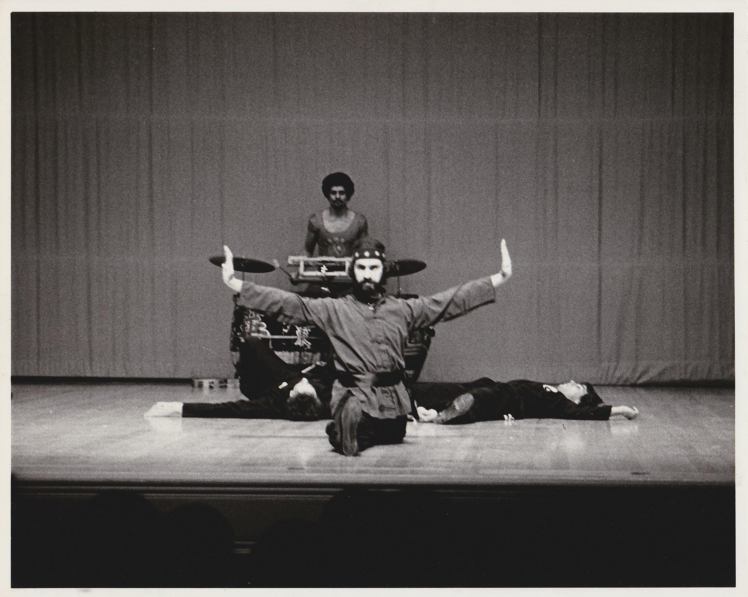 Sifu Paolillo at a demonstration at the John Hancock Hall in Boston, MA, late 1970s
