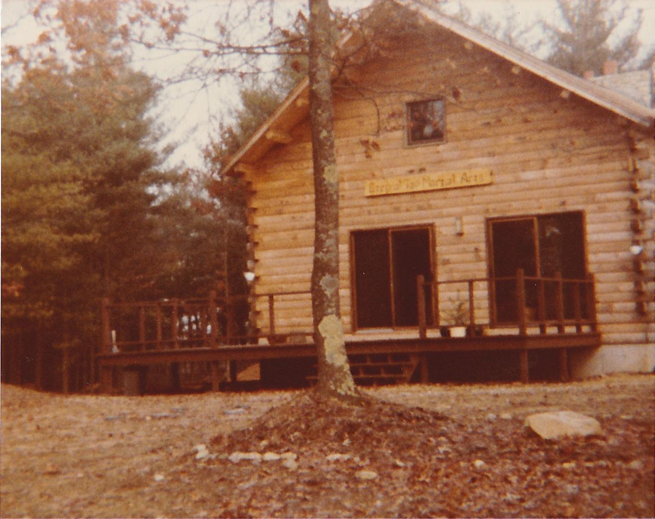 Master Paolillo's first Tao sanctuary in North Carver, MA, 1983.