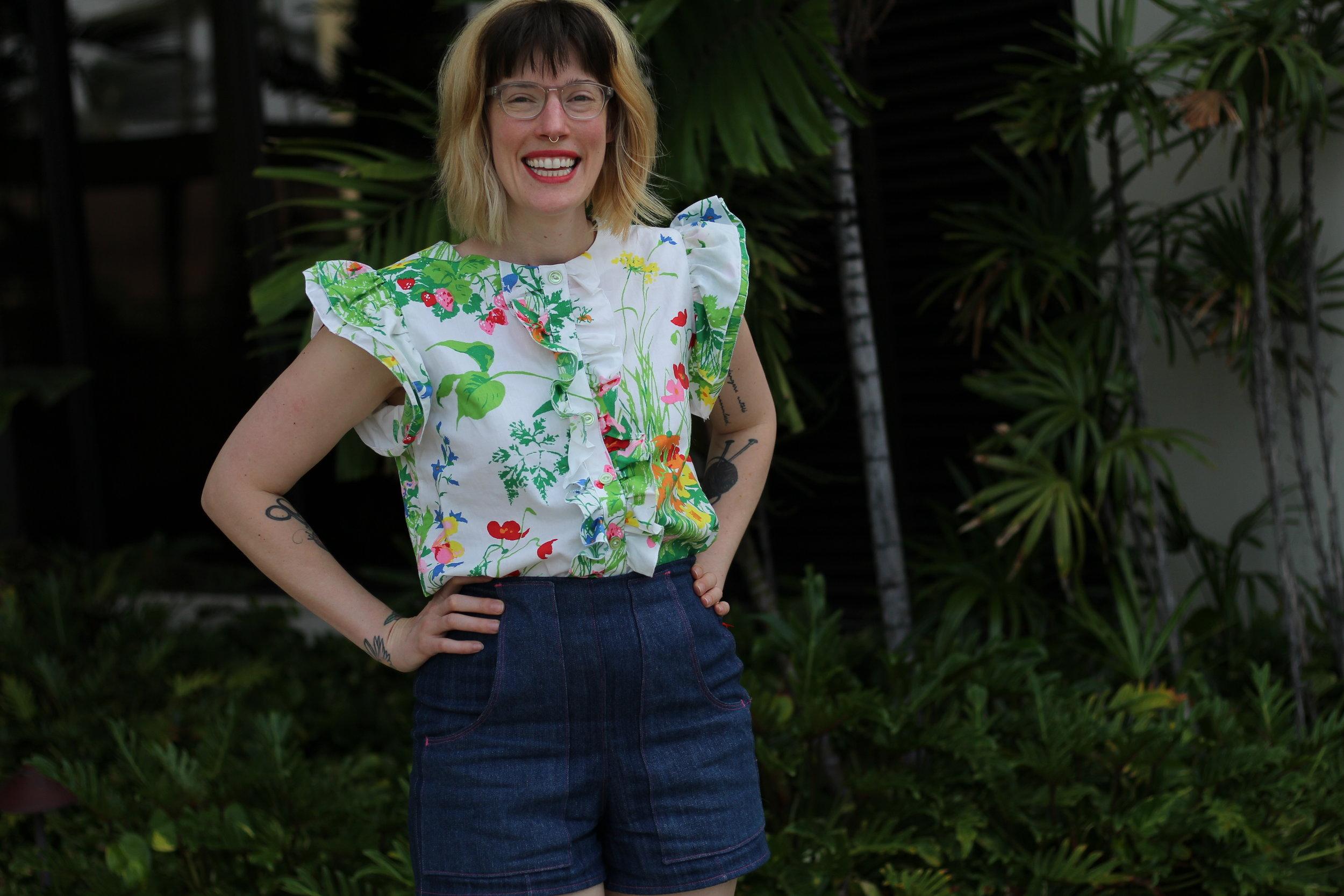 Erin Weisbart of Tuesday Stitches