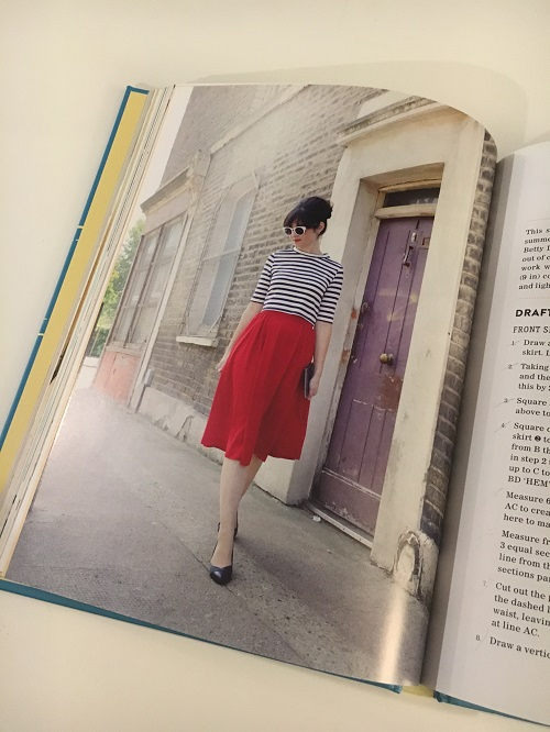The box pleat skirt from Sew Over It Vintage