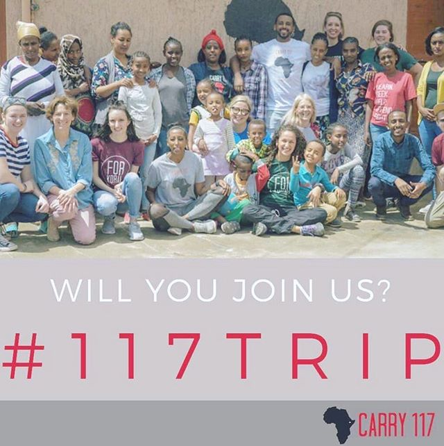 Want to go to Ethiopia in December?!? ✈️🇪🇹 Apply now for the next #117trip before it closes soon! DM me with any questions—I would love to tell you all about @carry117 trips!!