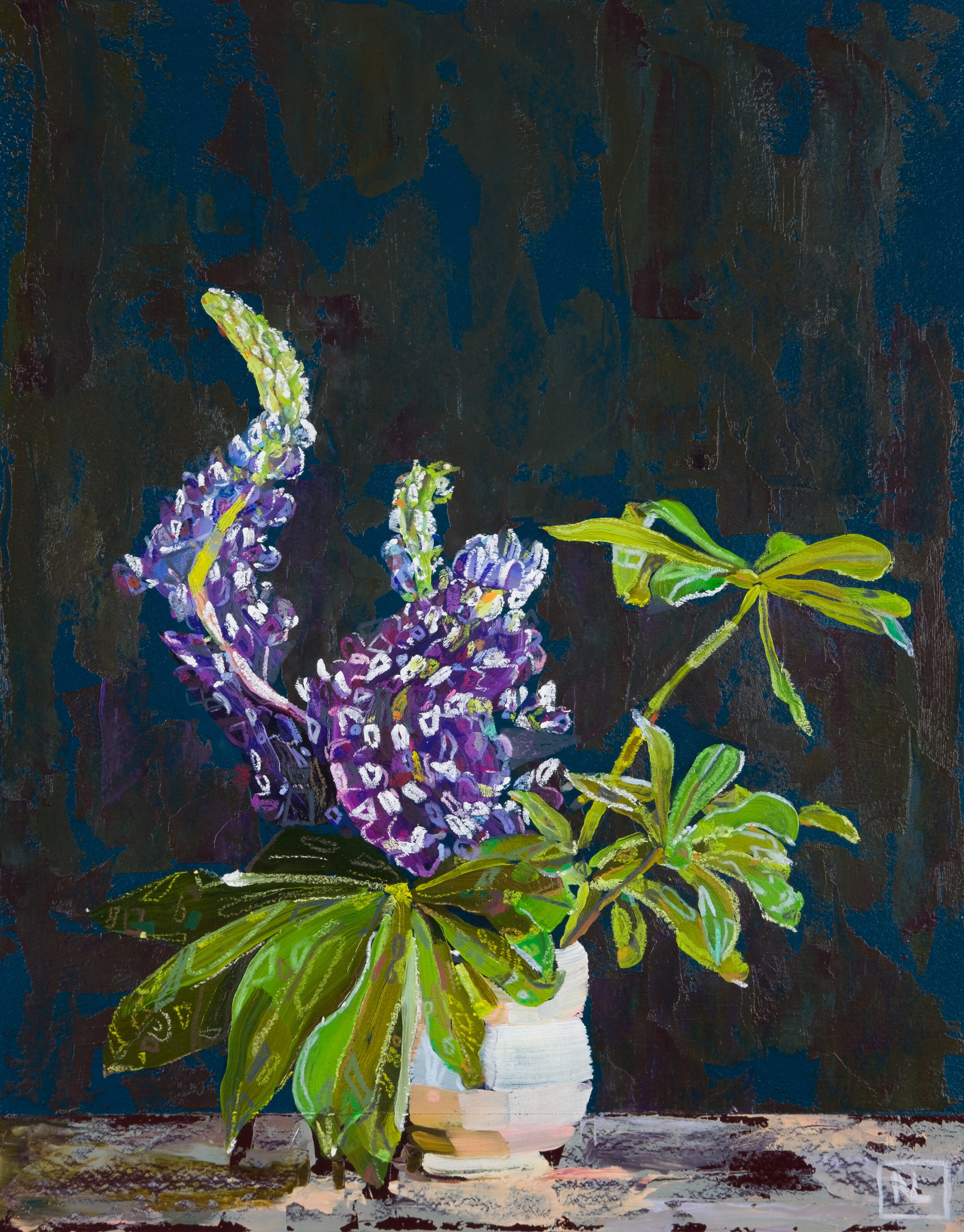 Untitled (lupines)