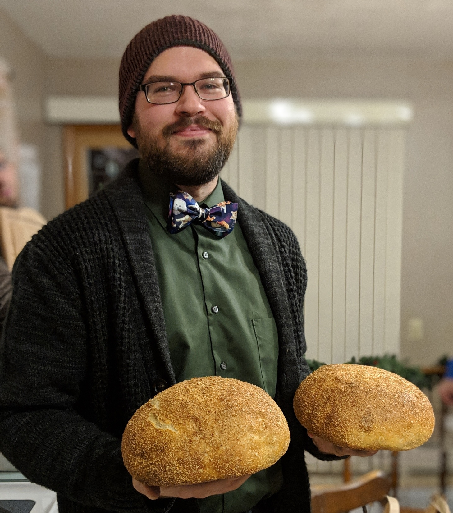 P Valentine Haggerty - Welcome! I'm a home baker and miller located in Charlottesville, VA interested in real, fresh bread and baked goods.In addition to this blog, I also occasionally contribute recipes to my friends at the New England Travel Journal.If you found this page and were looking for Patrick V Haggerty the mathematician, I have a webpage here.