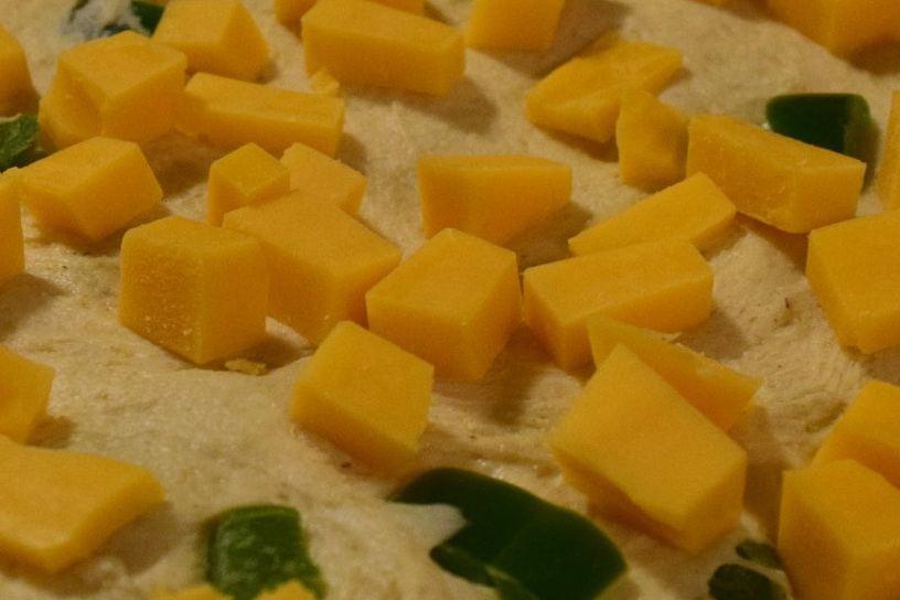 Folding in Cheese