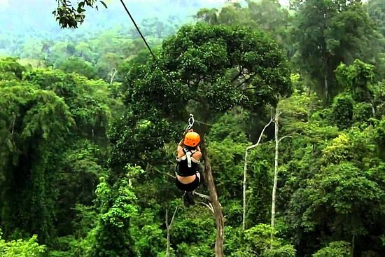 Hanuman World Zipline - Soar through Phuket's lush forest on a zipline adventure at the Hanuman World zipline park, where you'll find state-of-the-art safety and equipment in a stunning tropical setting. Swoop between 30 platforms