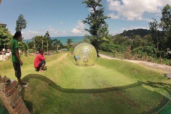 Rollerball Zorbing - Rollerball is an activity suitable for families, couples, singles or groups and for all ages from 6 years up! You can be picked up at any location in Phuket once you have made the booking and request. Rollerball is the brainchild of 2 wacky expats.