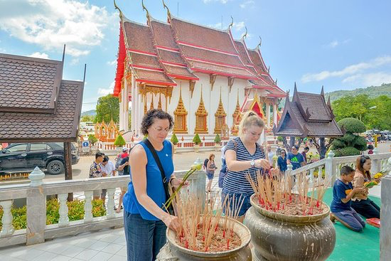 Phuket Sightseeing - Give yourself a culture and scenic treat in this program and your holiday memories will be enriched. Take in Phuket Island's natural beauty as you are driven along beach roads through Patong, Karon, Kata and RawaiTour duration is about 4-5 hours