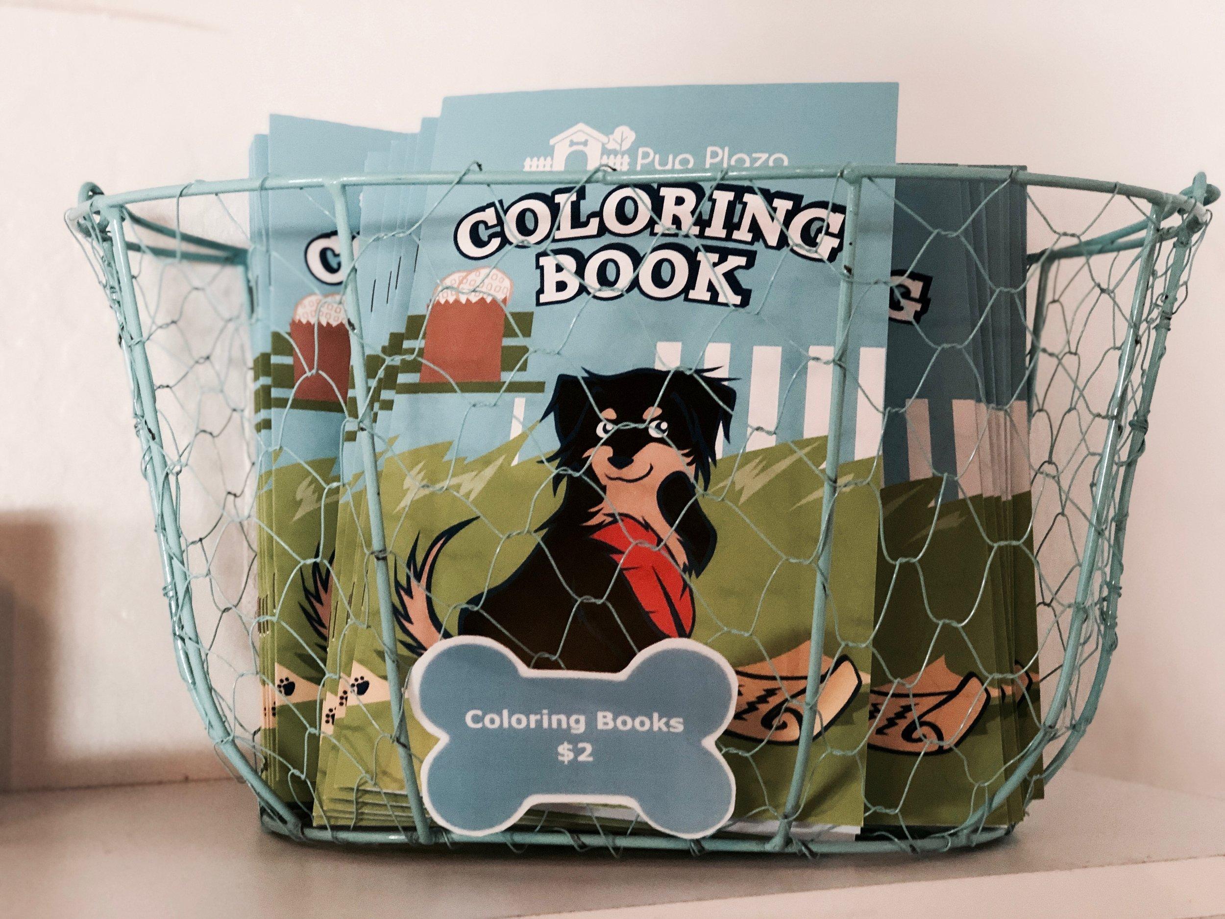 Coloring book - $5