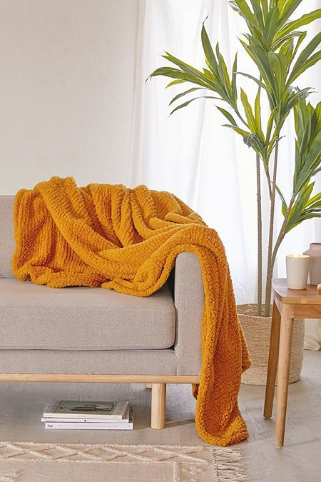 First Apartment Essentials - Yellow Throw for Lounging - My Base Space.jpg