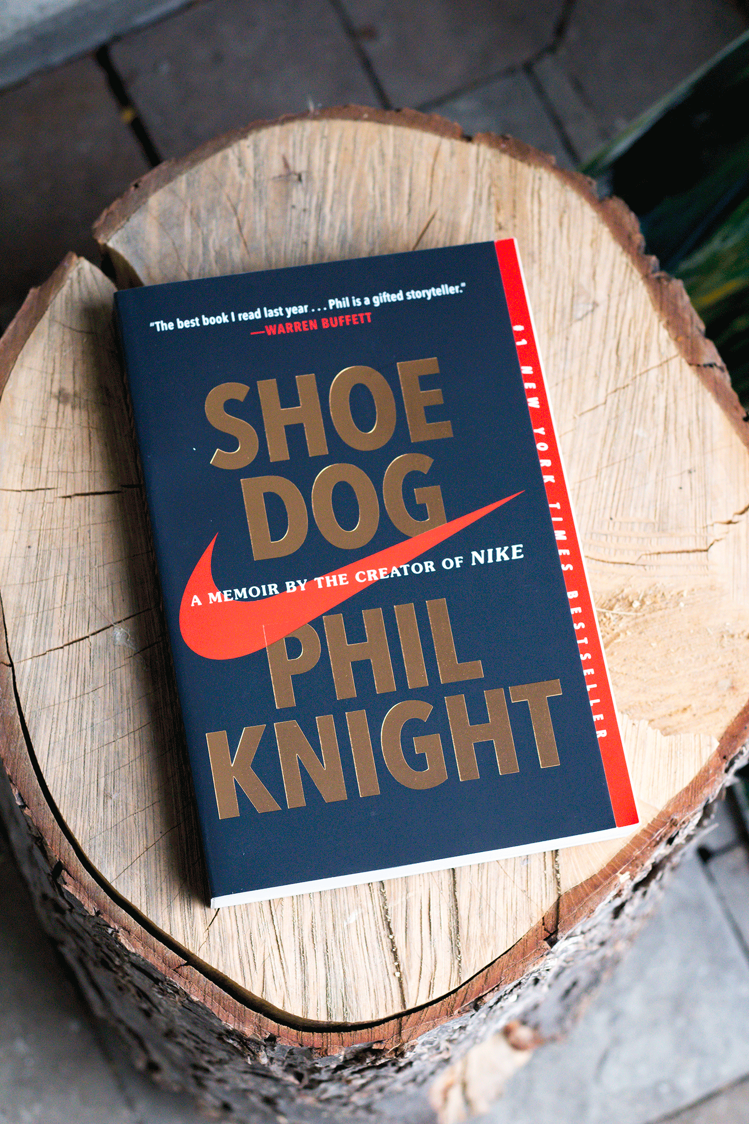 Fall 2018 Reads - Shoe Dog - My Base Space