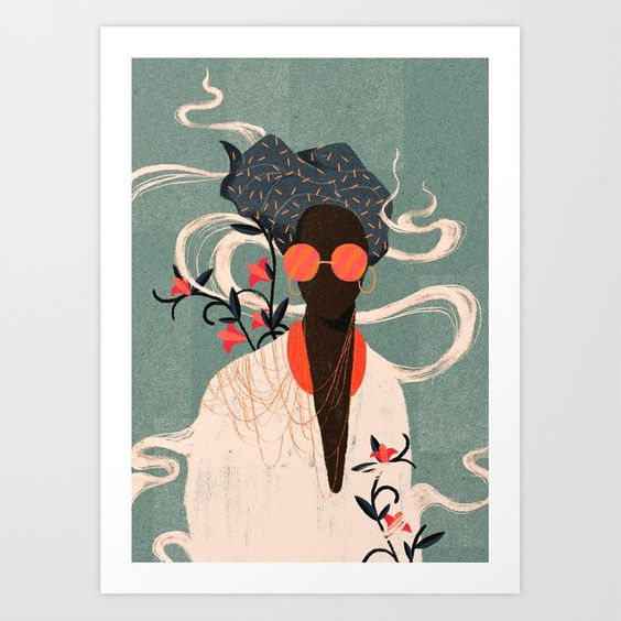 Kalemba Art Print $31.99
