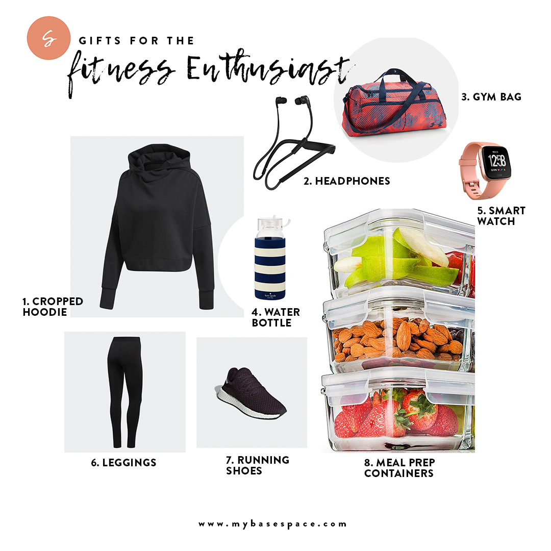 HOLIDAY GIFTS FOR THE FITNESS ENTHUSIAST