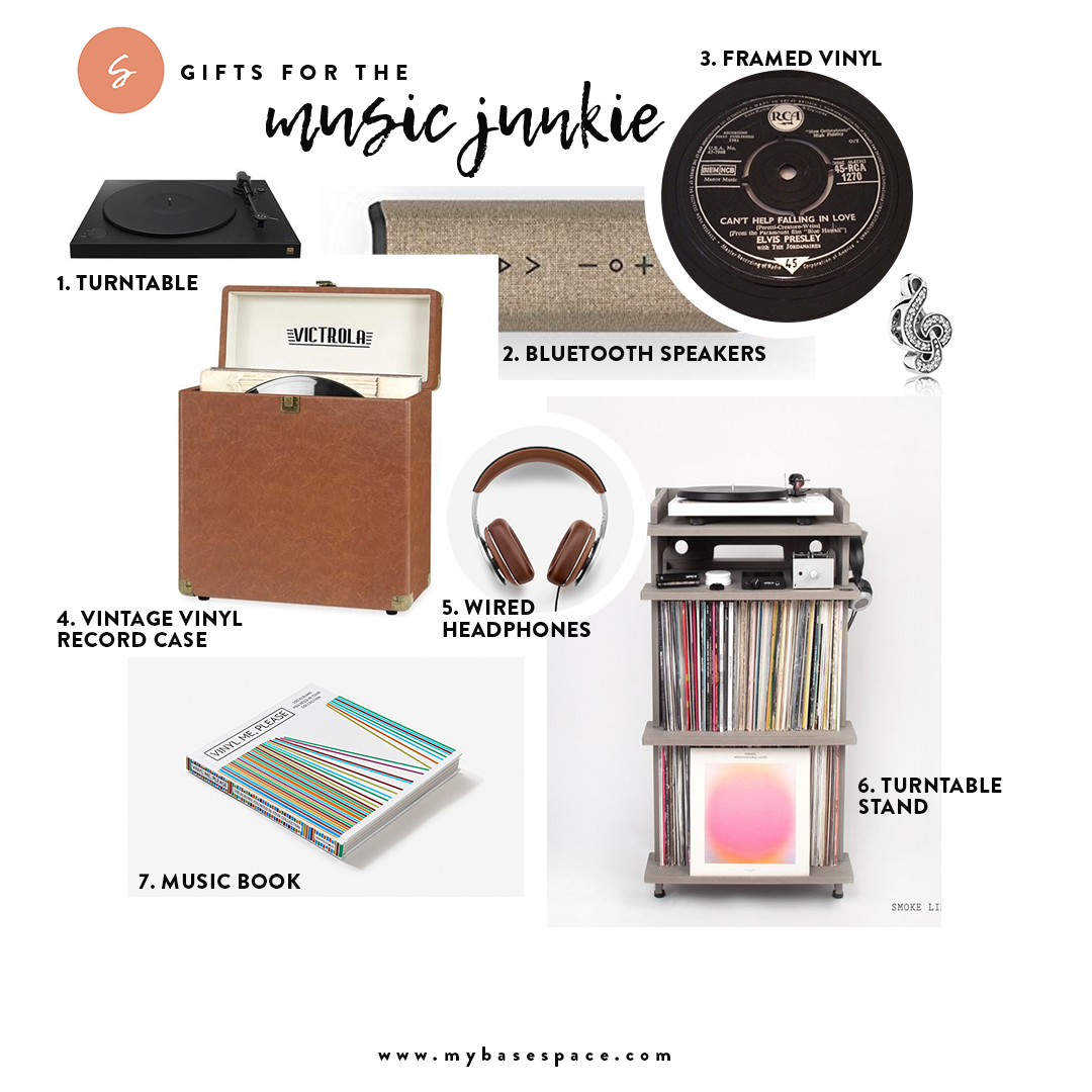 Holiday Gift Guide for the music Junkie | My Base Space