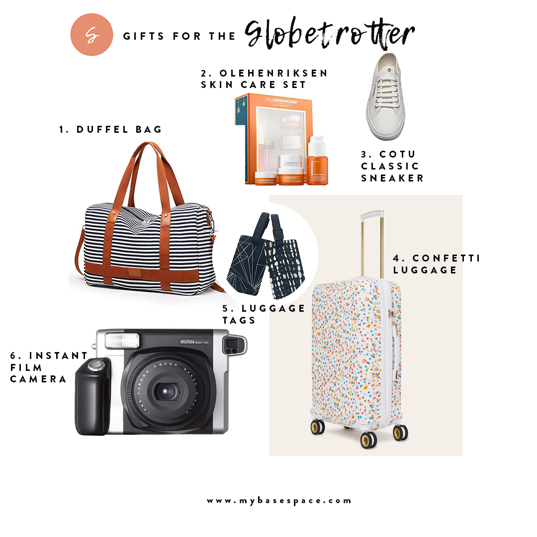 Holiday Gift Guide for the Globetrotter | My Base Space