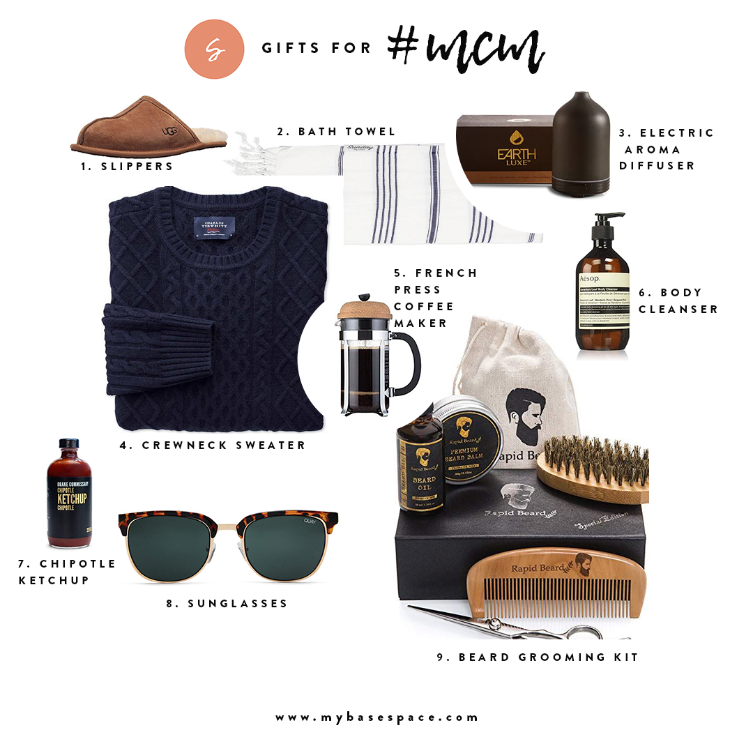 Holiday Gift Guide for your Man | My Base Space