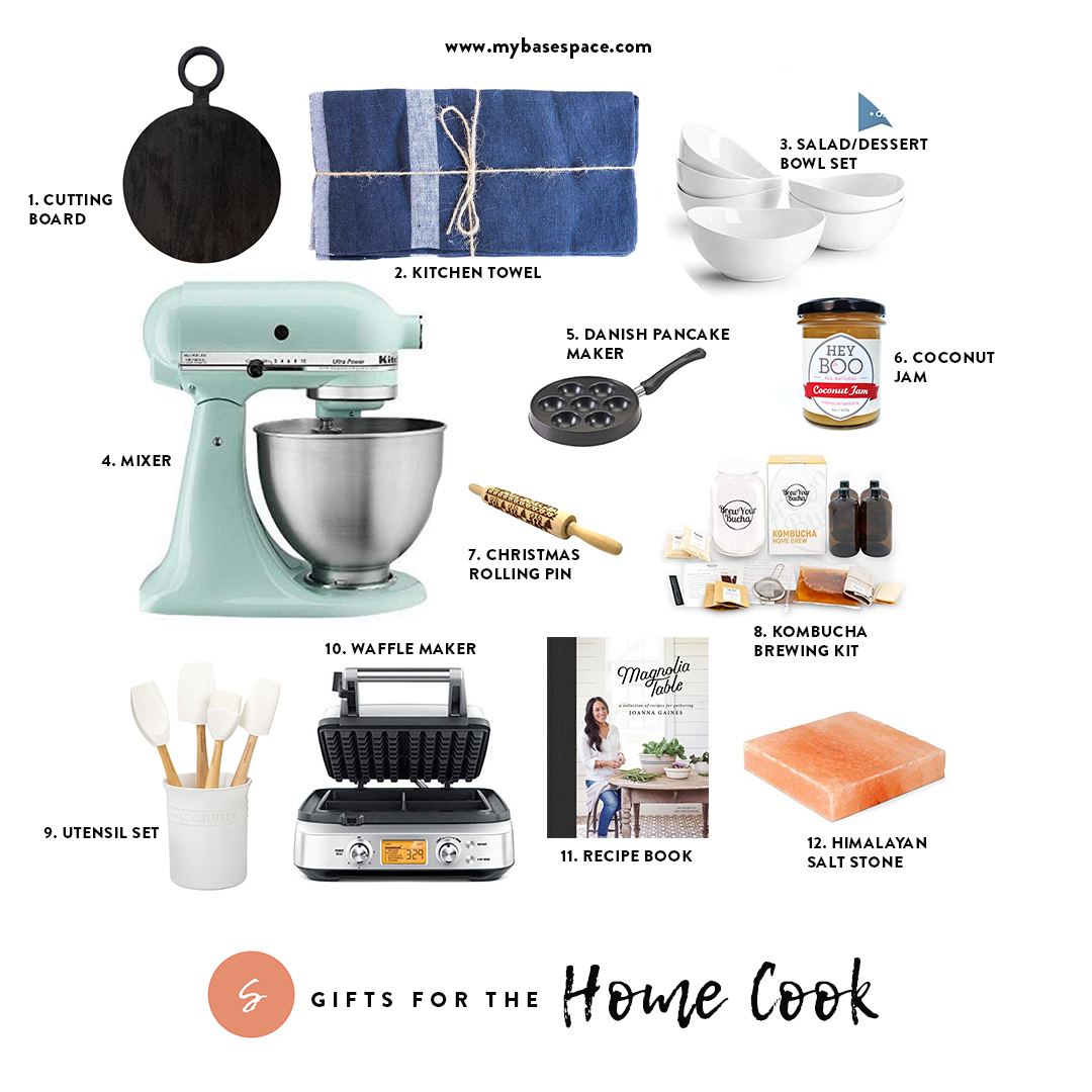 Holiday Gift Guide for Home Cooks | My Base Space