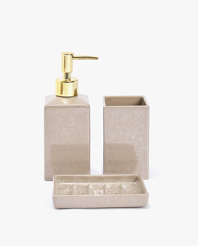 Marble-Effect Ceramic Dispenser
