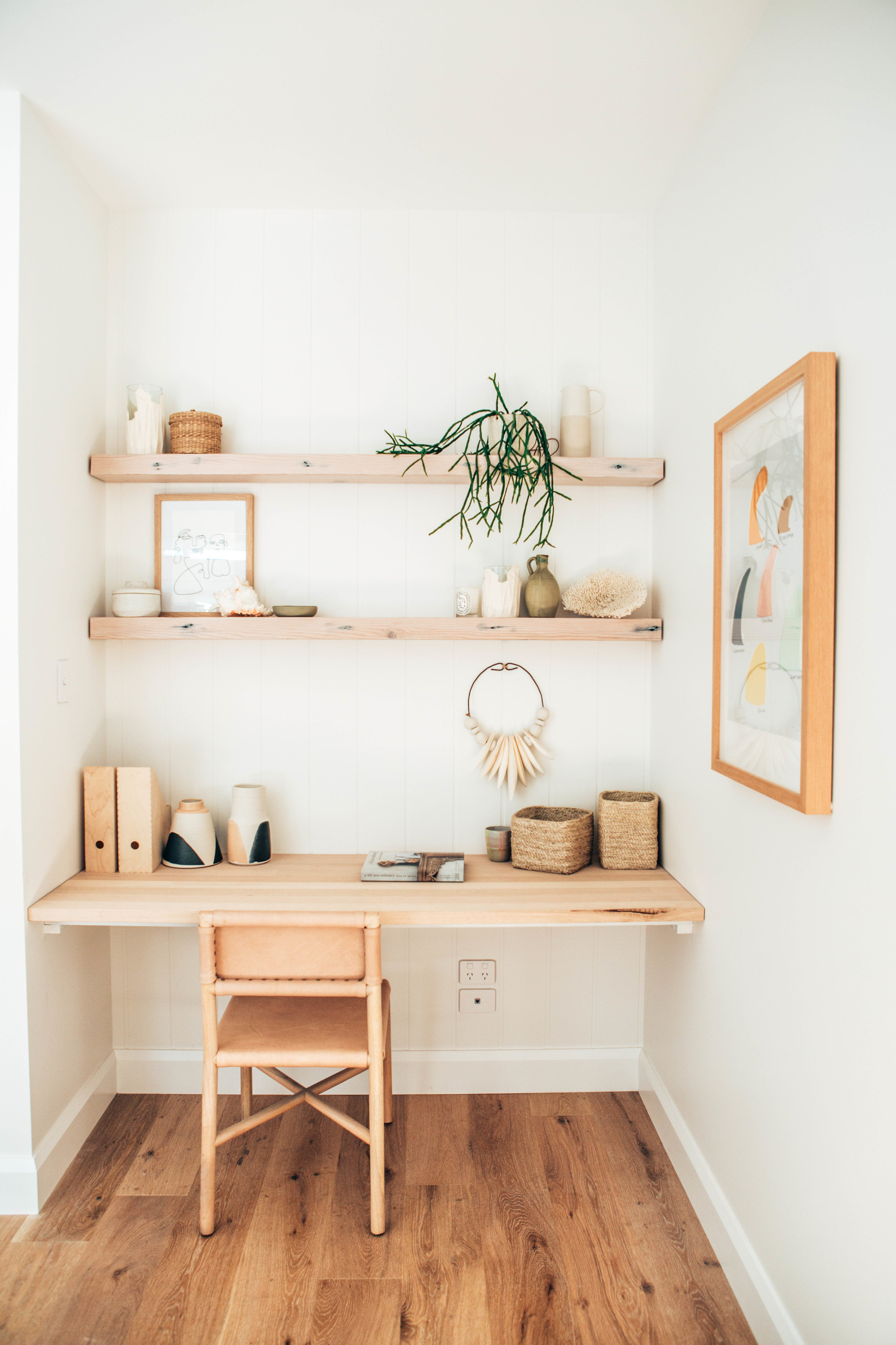 Seventh and Oak - Design Crush -  A Modern and Airy Study Nook